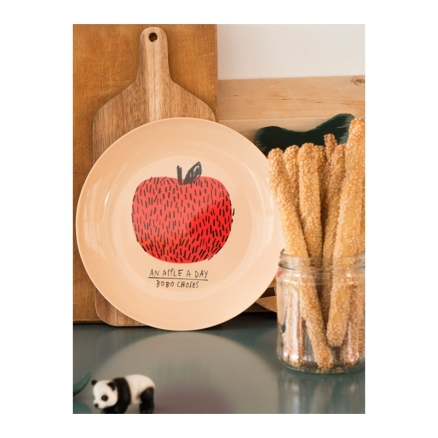 apples-plate