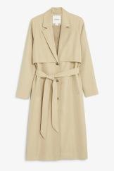 Twill trench coat 60 euros